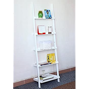 ladder tier metal office leaning storage tiered bookcases bookshelf bhp display ebay bookcase shelf a home