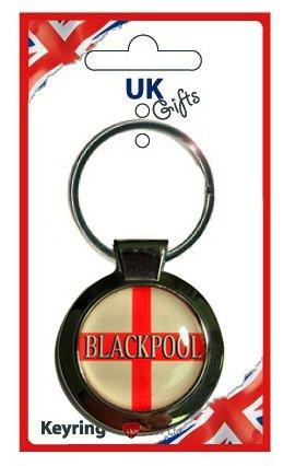 Blackpool St George Round Keyring