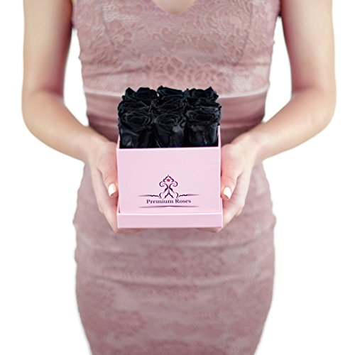 Real Black Roses that Last A Year by Premium Roses