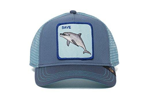 Goorin Bros. Animal Farm 'Save Us' Dolphin Snapback Trucker Hat Navy One Size -