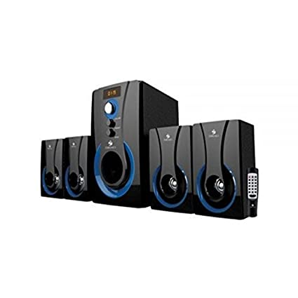 932b1277be5 Amazon.in  Buy Zebronics SW3490 RUCF 4.1 Multimedia Speaker with Remote  Control Online at Low Prices in India