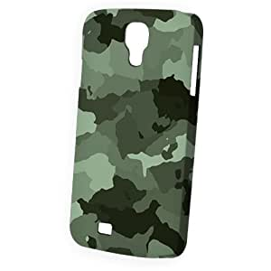 Case Fun Samsung Galaxy S4 (I9500) Case - Vogue Version - 3D Full Wrap - Grey Camouflage