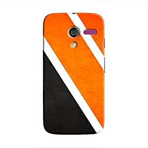 Cover It Up Orange Tile Hard Case For Moto X, Multi Color