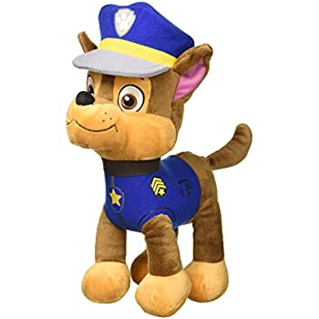 PAW PATROL - CHASE, GERMAN SHEPHERD - POLICE PLUSH TOY (30CM - 11