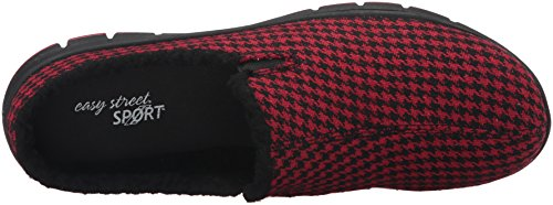 Kana Houndstooth Femmes Mules Black Toile Street Red Easy qnawSCgUC