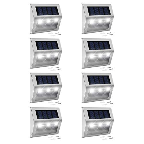Solar Step Lights with