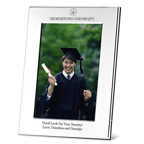 Personalized silverplate Picture Frame 8x10 Personalized Graduation Frames