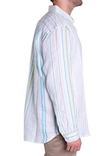 Tommy Bahama La Scala Breezer Shirt (Beach Glass, XL)