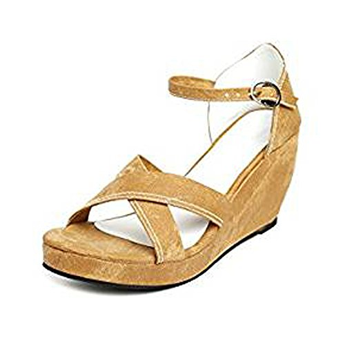 Leather Thong Sandal with Golden Design