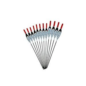 SRG Pole Floats 12 x Assorted Pole Floats (Pack 303R12)
