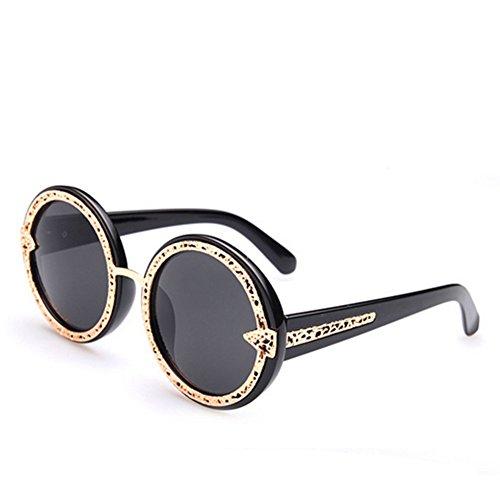 MosierBizne New Womens Fashion Sunglasses Metal Tip Hollow - Smith Optics Made Are Where