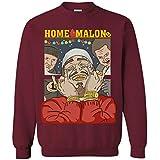 Home Malone Mens Womens Sweatshirt Post Malone Christmas Sweater Costumes