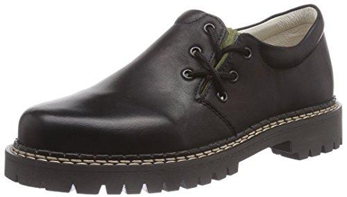 Richter Kinderschuhe Haferl Jungen Sneakers Schwarz (black/dark olive  9901)