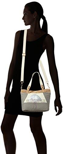 Adelheid Glückspilz Handtasche Klein - Bolso de mano de Lona Mujer Einheitsgröße