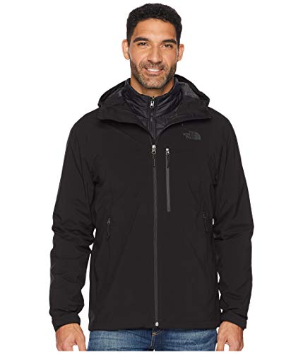 The North Face Men's Thermoball Triclimate Jacket - TNF Black & TNF Black - S (Best North Face 3in1 Jacket)
