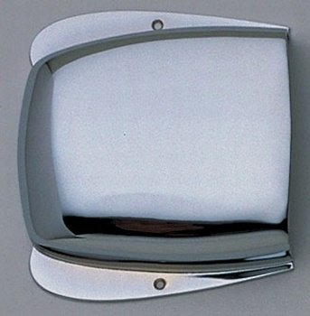 Allparts BP-2972-010 Chrome Bridge Cover for Jazz Bass