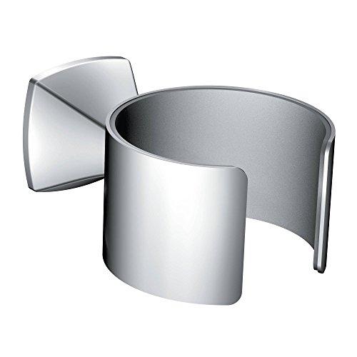 Moen YB5170CH Voss Hair Dryer Holder, (Chrome Dryer)