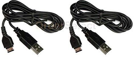 Bastex cable Fits Samsung Universal 2X USB Cable Compatible with The Following Models