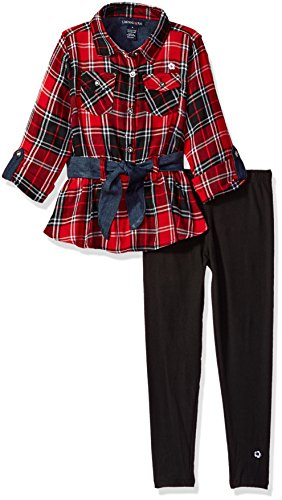 Limited Too Little Girls' Fashion Top and Legging Set (More Styles Available), Multi Print_5, 4 by Limited Too