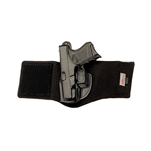 Galco Ankle Glove/Ankle Holster for Glock 30, 29 (Black, Right-hand) by Galco Gunleather