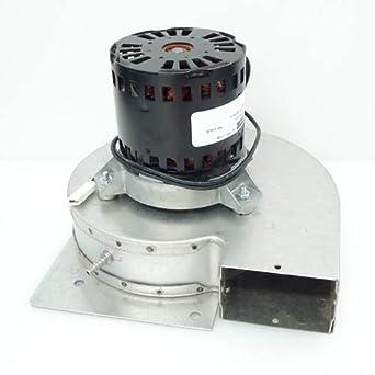 98m88 lennox furnace draft inducer exhaust vent venter for Lennox furnace motor price