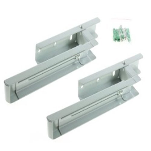 Silver Wall Mounting Bracket Arms For Microwave Ovens First4Spares