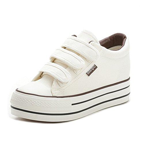 zapatos con velcro modelos silvestres de verano/Zapatos altos de plataforma/Zapatos ocasionales de las mujeres A
