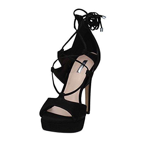 Gaudi V73-65402 High Heeled Sandals Women Black rkWw41IP8
