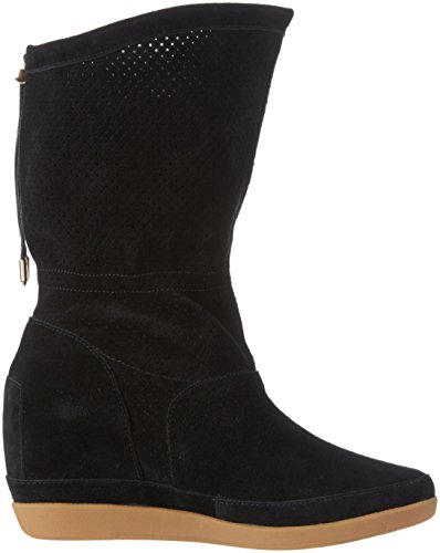 Shoe The Bear Damen Emmy III Kurzschaft Stiefel Schwarz (Black)