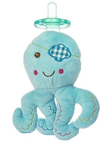 Mary Meyer Wubbanub Plush Pacifier, Buccanneer Octopus (Mary Meyer Wubbanubs)