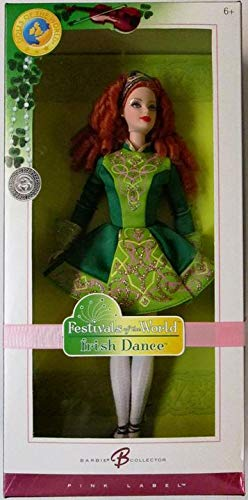 Festivals Of The World: Irish Dance Barbie Doll