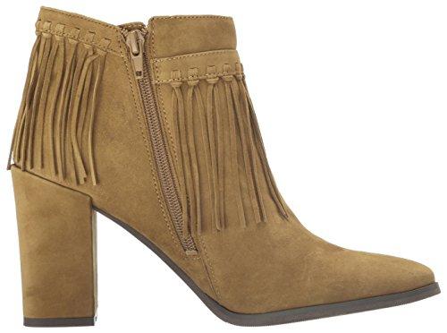 Nine West Womens Wildbelle Ankle Bootie Cognac