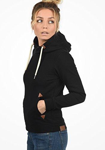 Fodera nbsp; Donna Cappuccio Giacca Cappuccio Pile Desires Felpa In Da VickyHood 9000 Felpe Black Pullover Con Con q87nPFxwv