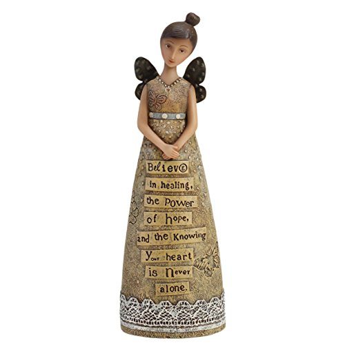 Heart Angel Figure (DEMDACO Kelly Rae Roberts Hope and Healing Angel figure)