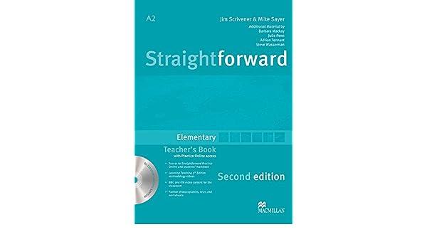 Straightforward Elementary Level: Teachers Book Pack: Philip Kerr: 9780230423114: Amazon.com: Books
