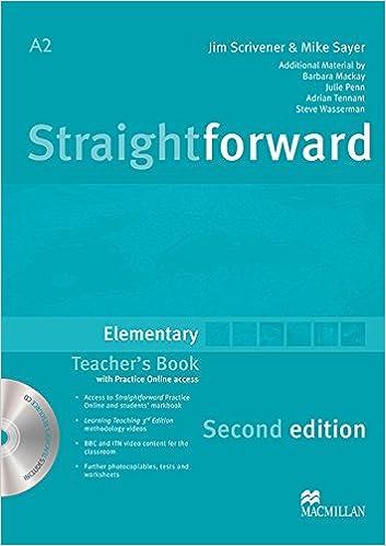 Straightforward Elementary Level: Teachers Book Pack Paperback – January 1, 2012