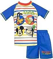 Disney Boys' Mickey Mouse Two Piece Swim