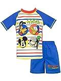 Disney Boys' Mickey Mouse Two Piece Swim Set Size 8 Blue