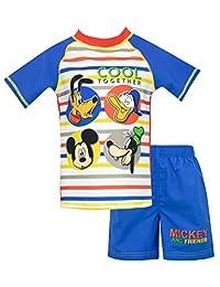 Disney Boys' Mickey Mouse Two Piece Swim Set