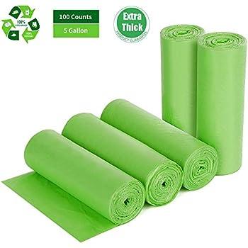 Amazon.com: Bolsas biodegradables de 5 galones.: Home & Kitchen