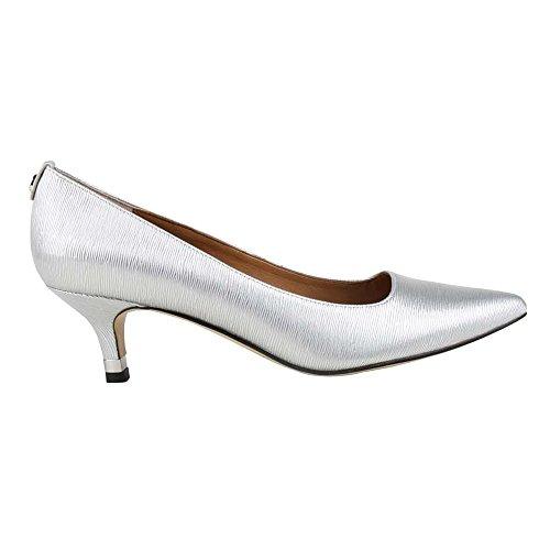 J.renee Womens Braidy Dress Pump Silver