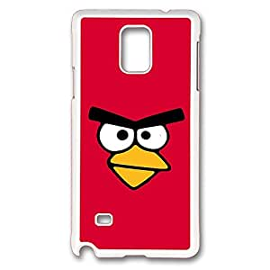 Samsung Galaxy Note 4 Case, Note 4 Case - Fashion Design White Hard Back Case for Galaxy Note 4 Case Cartoon Angry Birds Anti-Scratch Hard Case for Samsung Galaxy Note 4