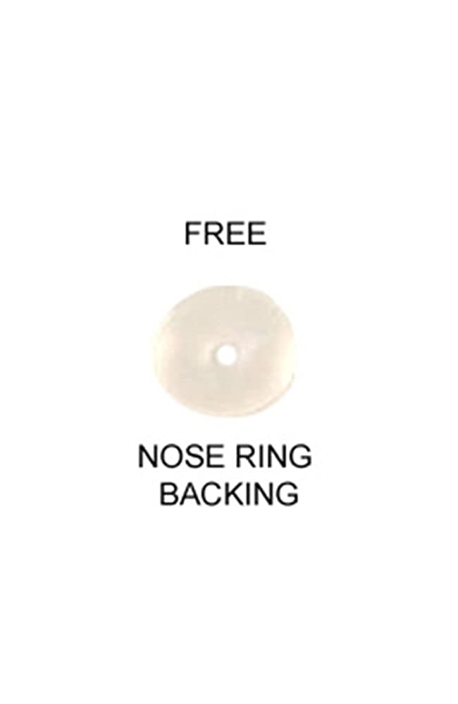 316L Surgical Steel Nose Stud Ring Christmas Santa Hat Choose Your Color & Style 20G Nose Ring Bling F5342-Gold-Tone-10mm-Strt