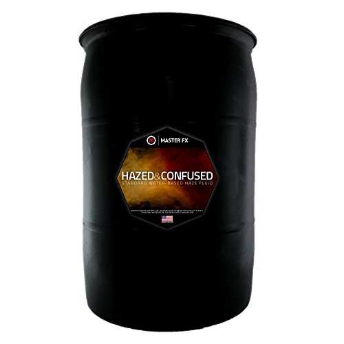 (Hazed and Confused Standard Water-Based Haze Fluid - (55 Gallon Drum))