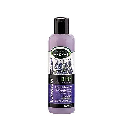 BHF Acondicionador Anticaida con Extracto de Lavanda para Cabello Graso 200 ml Sin Parabenos