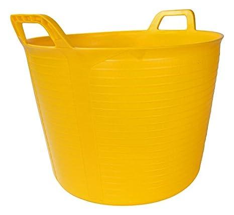 Rubi 55 l Kunststoff-Trage-Eimer farbe Gelb N/º.4