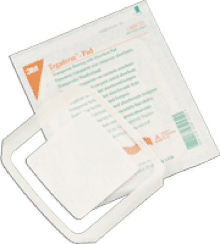 Waterproof Non Box (3M Healthcare Tegaderm Film Dressing with Non-adherent Pad 3-1/2
