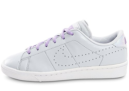 Nike 859520-002 - Zapatillas de deporte Niñas Gris (Pure Platinum / Urban Lilac-White)