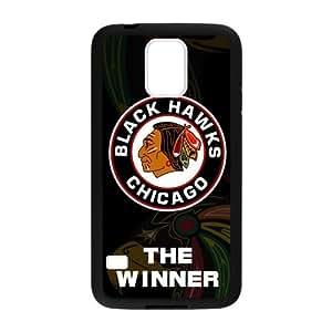 Custom Unique Design NHL Chicago Blackhawks Samsung Galaxy S5 Silicone Case