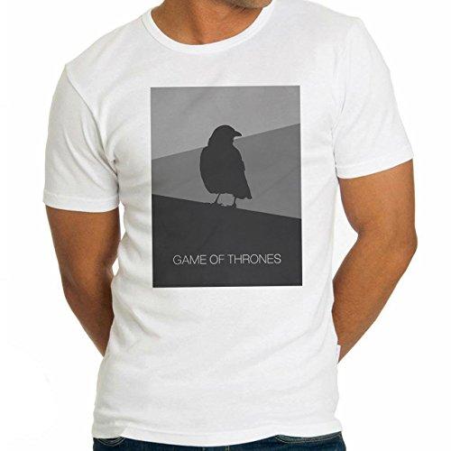 Game Of Thrones The Raven Design Herren T-Shirt